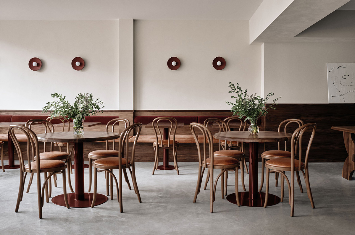Montreal's minimalist Cafe Chez Teta is proof that clean lines don't have to be cold, thanks to its mix of pared-back design and welcoming bistro atmosphere.