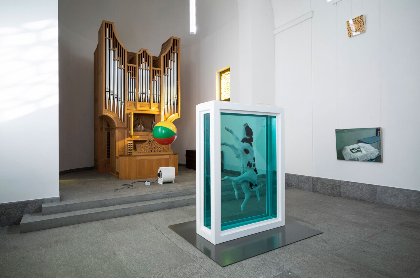 Damien Hirst: Mental Escapology is on display until 24 March 2021.