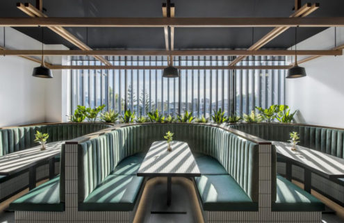 Adelaide's Mosaic Hotel is a sunny reinvention of a former stadium