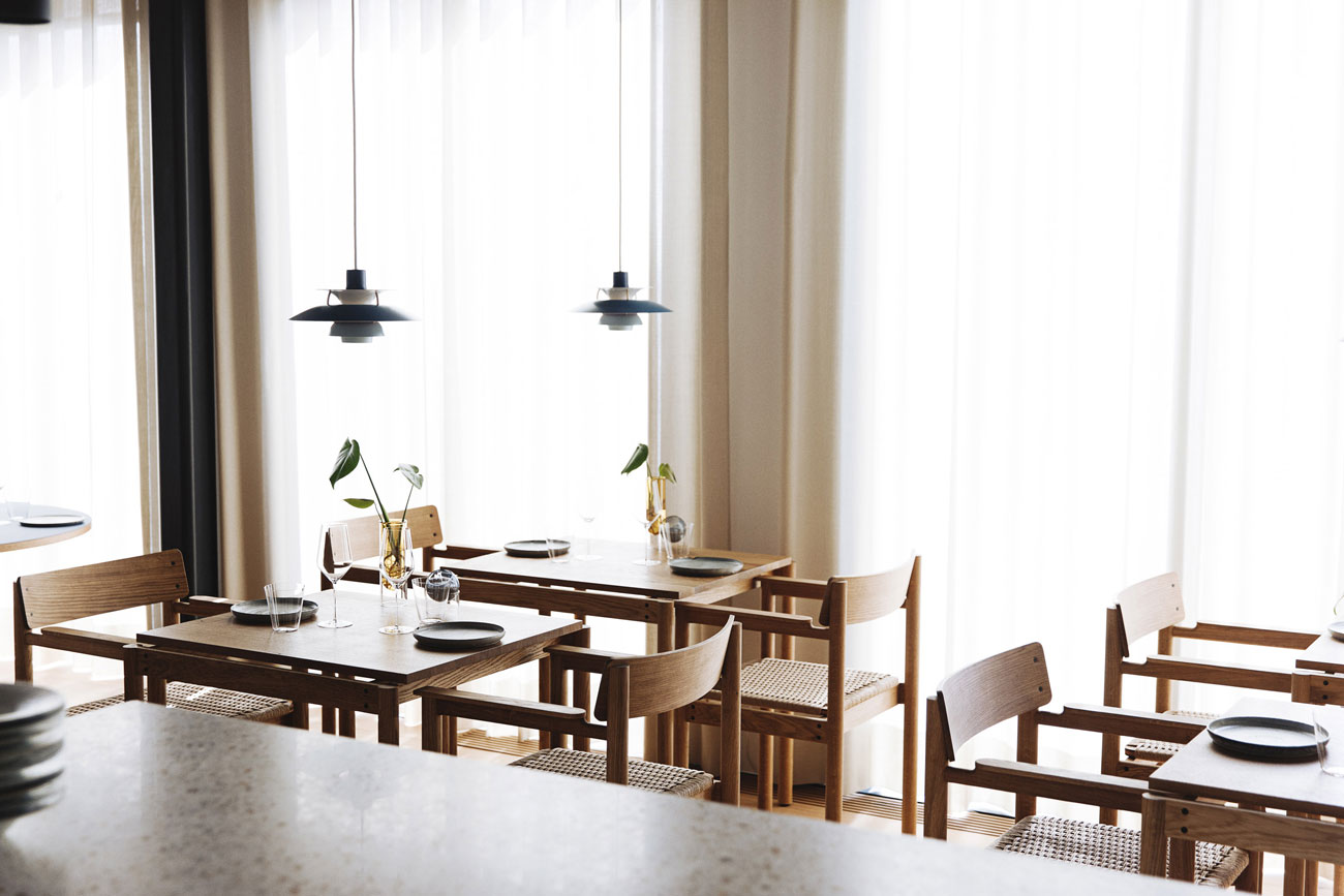 Michelin star restaurant Substans immerses diners in classic Danish design
