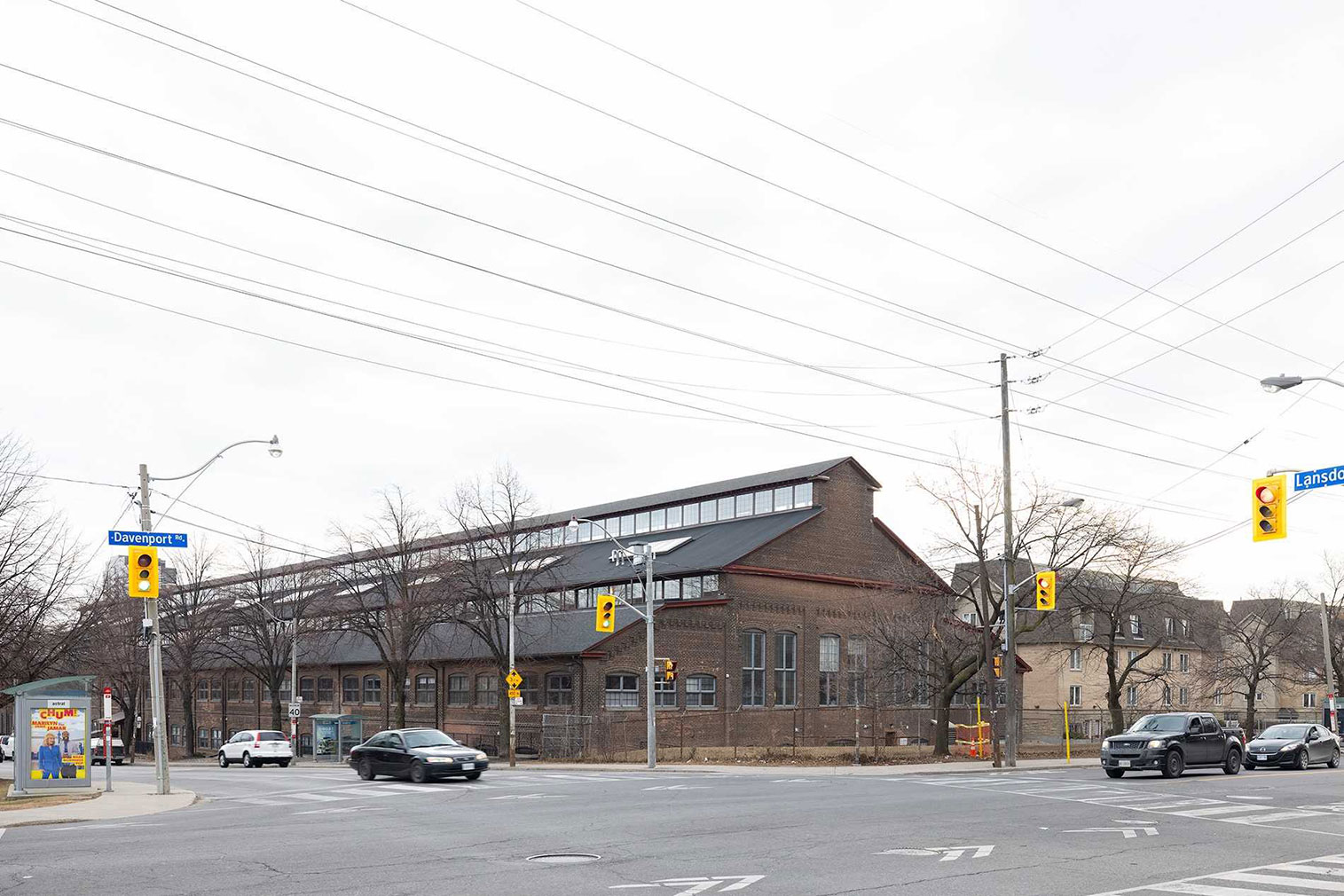 Street cars and trains were manufactured at the former factory at 1100 Lansdowne Avenue in the early 20th century