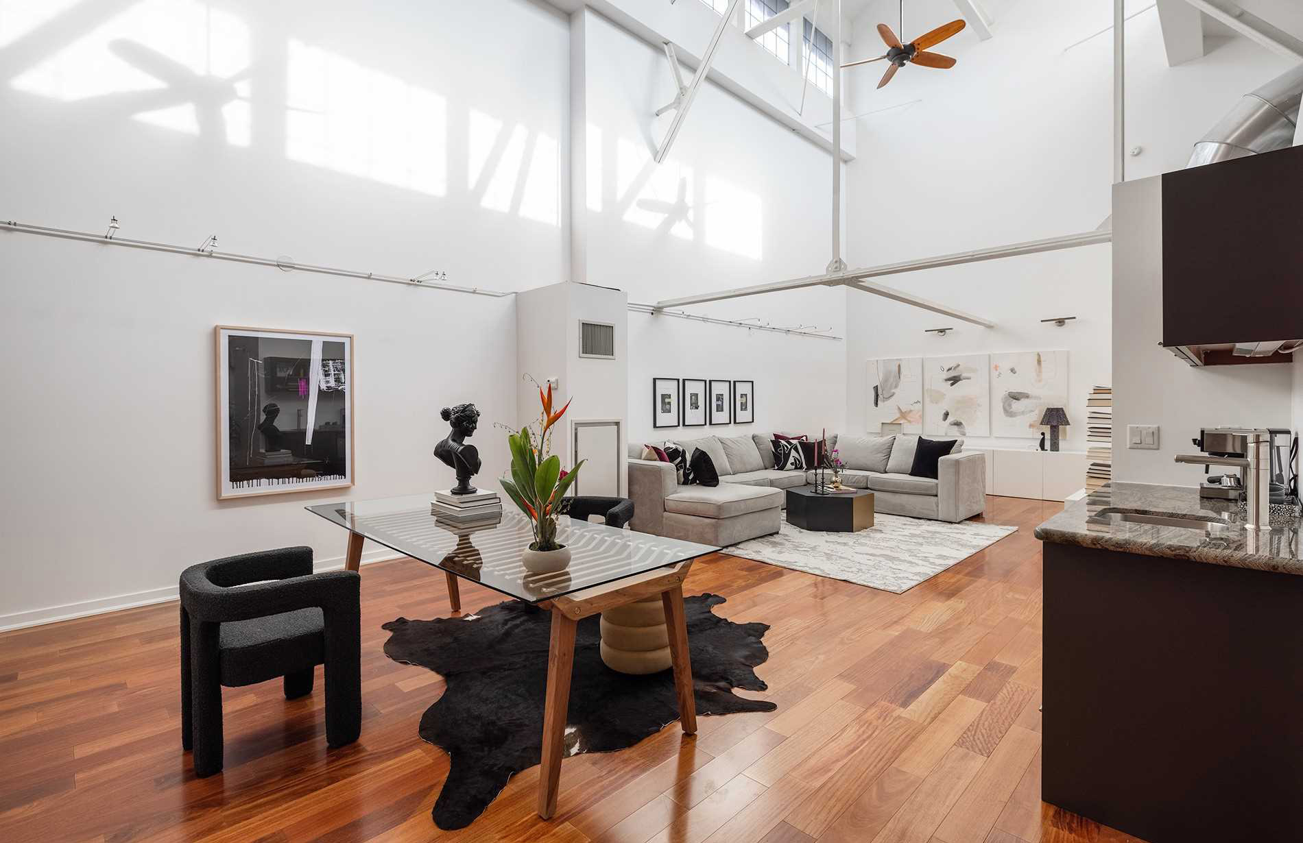 Toronto loft in converted train factory is for sale