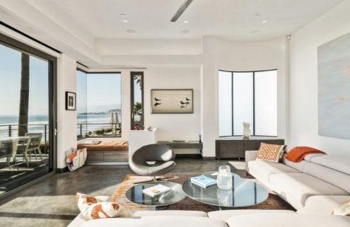 Bryan Cranston lists his oceanfront Californian home