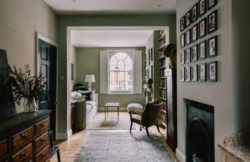A gorgeous Georgian home is for sale in East London