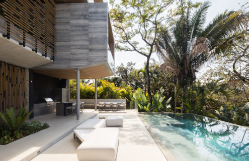 Studio Saxe's 'floating' Atrium House is for sale in Costa Rica