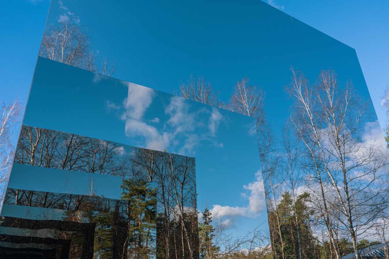 Gregory Orekhov's Black Square installation offers a new perspective on Moscow's Malevich Park