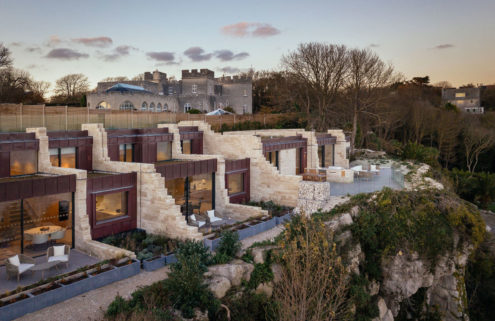 Dorset's craggy coastline inspires The Clifftops villas