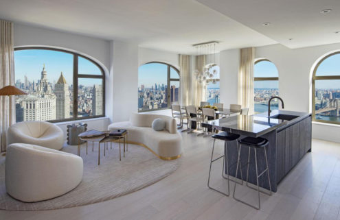 David Adjaye reveals the interiors for his 130 William development in New York