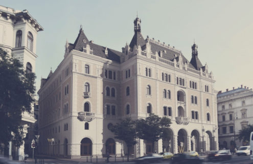 Budapest's abandoned Dreschler Palace is to become a hotel