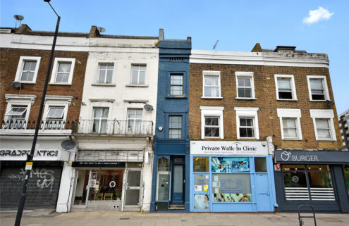 London's skinniest house is for sale