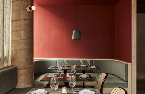 Manhattan's Kimika restaurant blends Japanese and Italian cuisine – and design