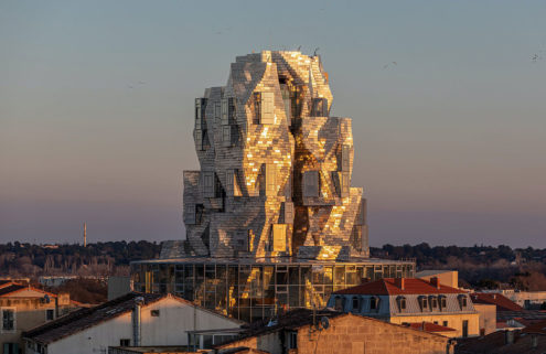 Frank Gehry's crumpled Luma Arles tower will finally open this summer