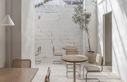 See our mood board of minimalist restaurants on Pinterest