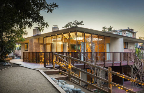 John Lautner-designed Deutsch House lists in Los Angeles