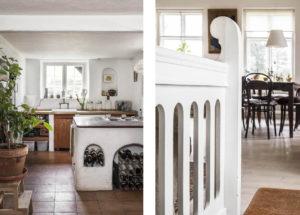 The main family kitchen