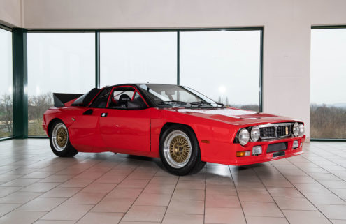 Prototype 1980 Lancia 037 rally car heads to auction in Milan