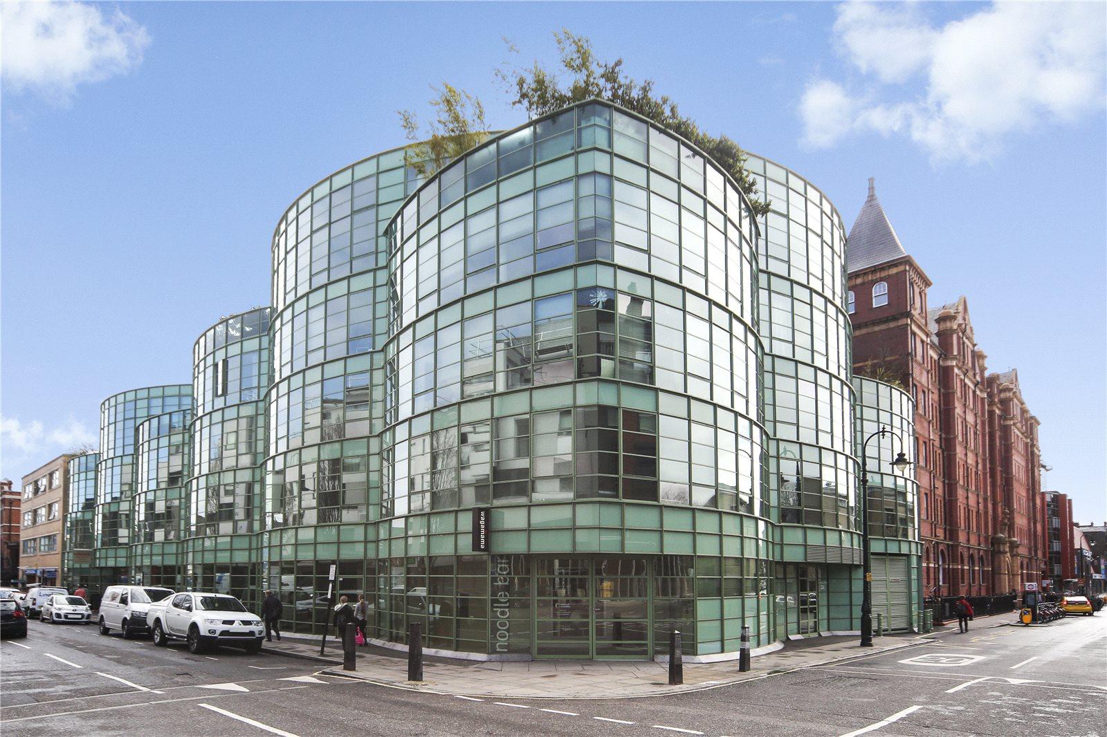 Piers Gough's Glass Building is a Camden landmark
