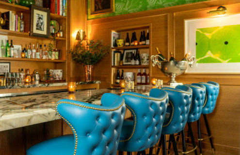 Palm Springs' Bar Cecil revels in its maximalist 'dandy' interiors