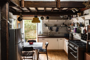 You'll either love or hate the rustic nature of this property