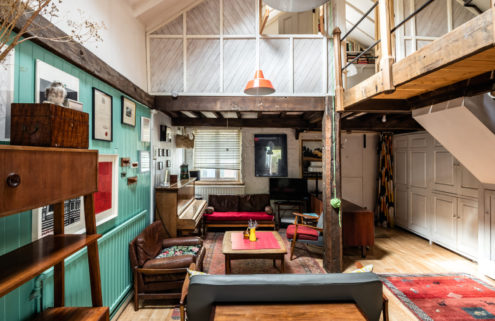 Inside a quirky stable conversion in South London
