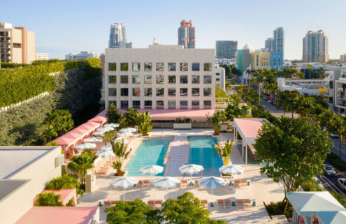 Pharrell's Miami hotel Goodtime opens – and he promises guests will leave 'vibrating'