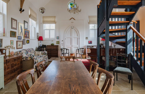 Peek inside a lofty converted chapel in Berkshire