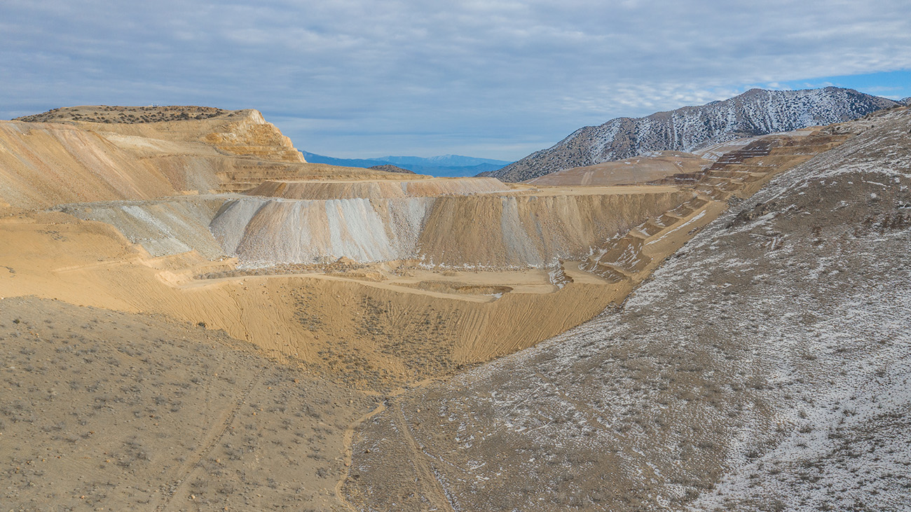 The 20-acre site tested positive for gold and silver reserves, according to geological studies