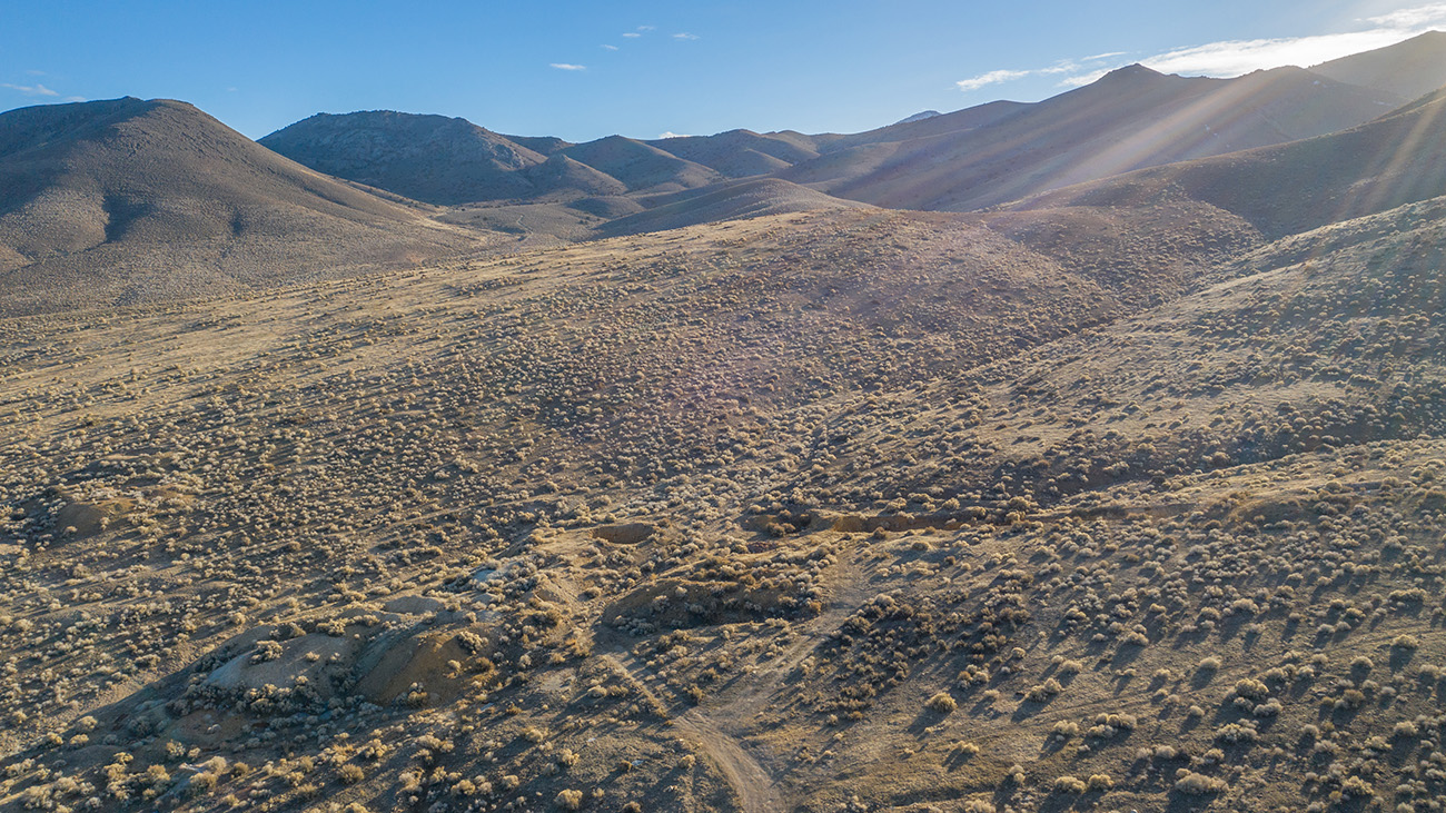 revive a historic mine and capitalise on its mineral-mining potential and consists of a two-compartment shaft set under mountainous desert landscapes.
