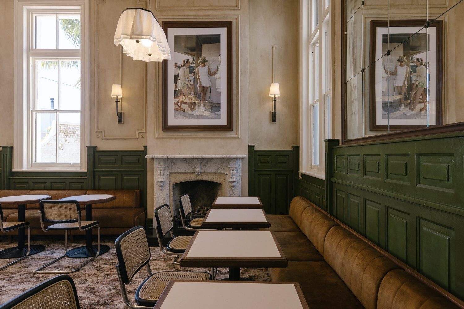 1930s pubs inform the interiors of Hotel Ponsenby