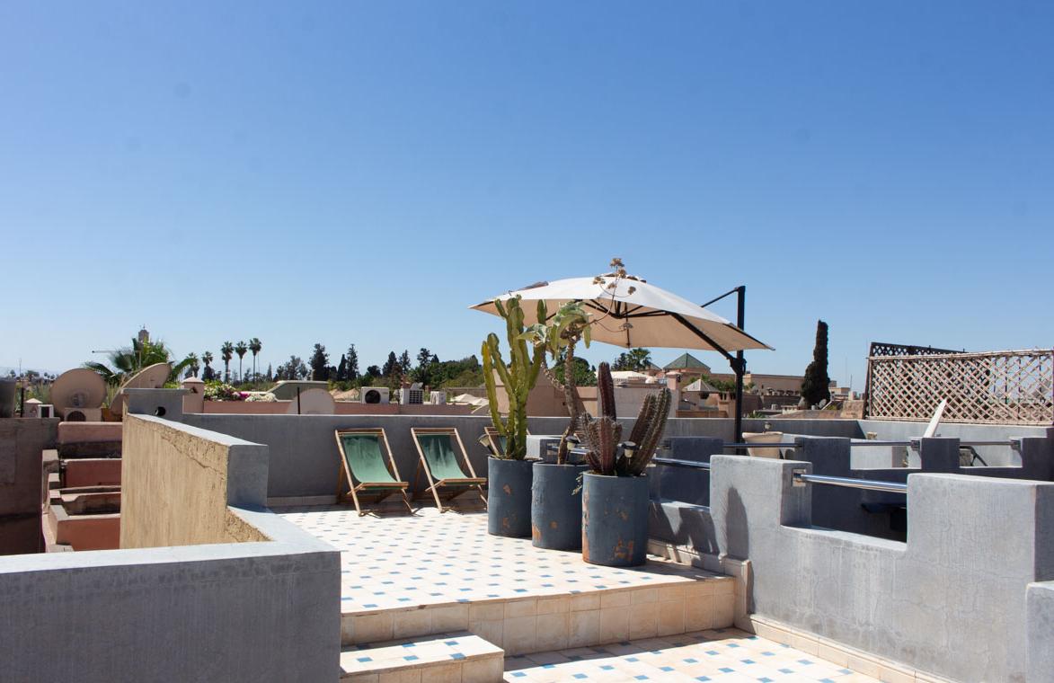 A refurbished riad is for sale in the Dar El Bacha neighbourhood of Marrakech