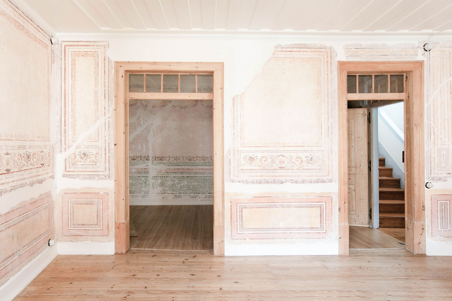 Frescoed Lisbon apartment is packed with charm