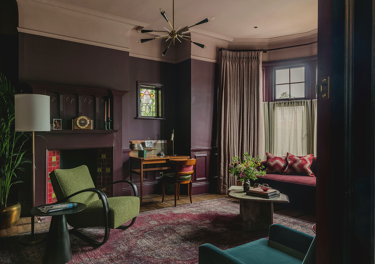 Artichoke is the backdrop for an eclectic smattering of vintage furniture finds at Flower Lane