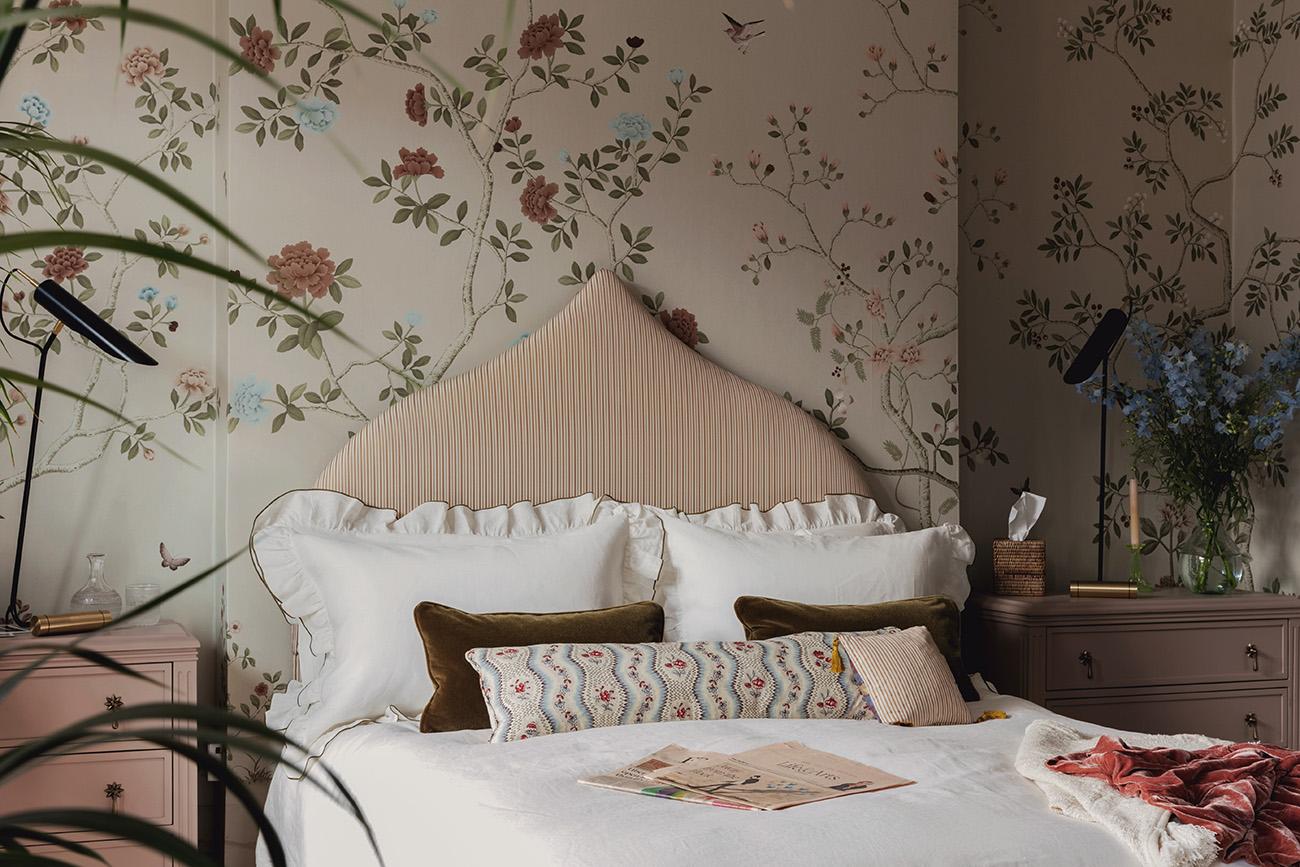 Queen's Park bedroom by Studio Duggan, completed 2019. Photography: Mariell Lind Hansen