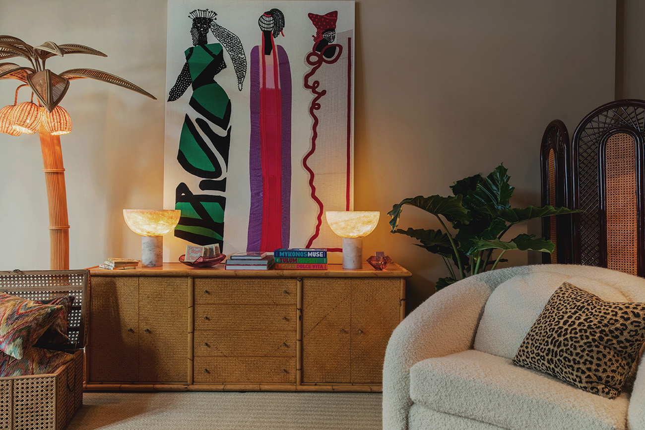 Inside Tiffany Duggan's Trove Store in Notting Hill. The retail ventuure is the physical outlet for her lifestyle brand and bespoke furniture range
