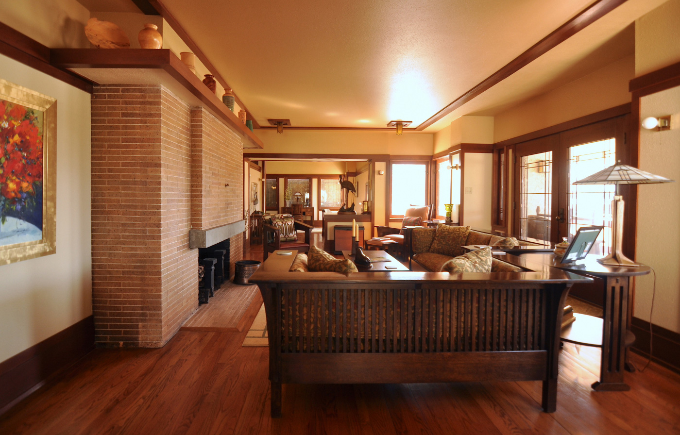 Sutton House Photography: Gregory Dowell / Frank Lloyd Wright Building Conservancy