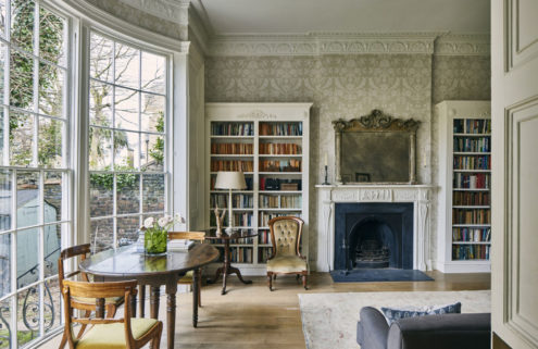 Regency refinement is on offer at this period home in Richmond