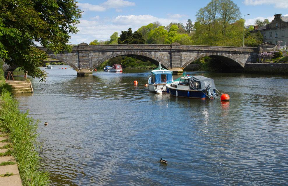 The River Dart in Totnes, Decon. Via Rightmove
