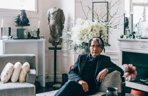 Fashion designer Kenzo Takada's furniture collection heads to auction in Paris