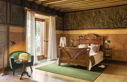 Guests can spend the night at Gaudí's Casa Vicens this autumn