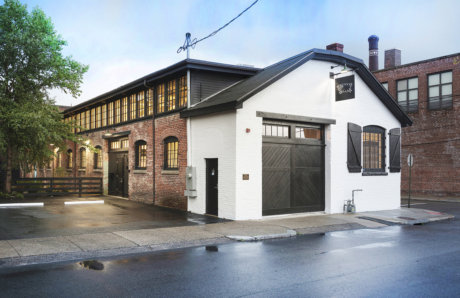 Dye House is set inside a 161-year-old textile mill that has been given a new look for its transformation into a hotel.
