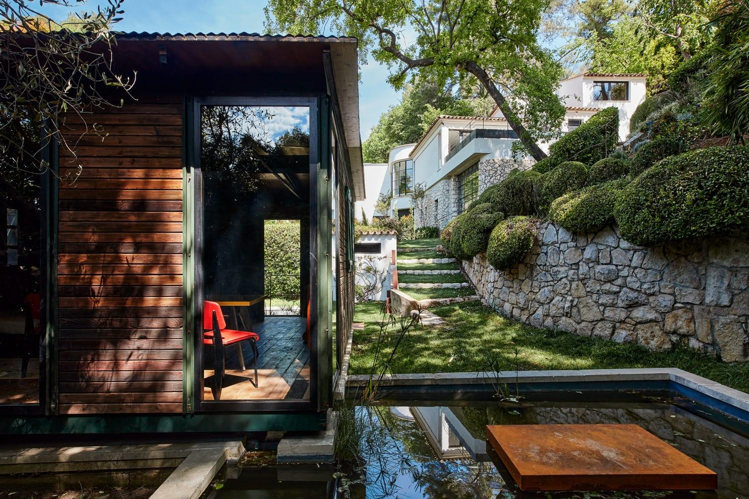 Visitors can find – and rent – one of Jean Prouvé's sought-after demountable homes