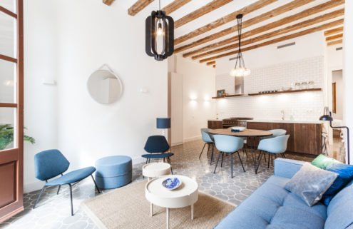 Spartan Barcelona apartment offers refuge in the city's Poblenou neighbourhood