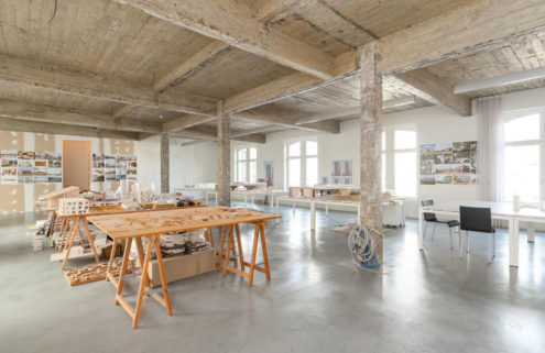 These live/work Antwerp lofts offer a radical scale for living in the heart of the city