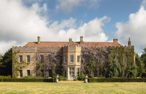 Romantic gardens envelop Norfolk's Narborough Hall