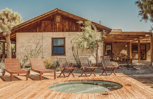 Californian desert retreat Rancho Morongo lists for $899k