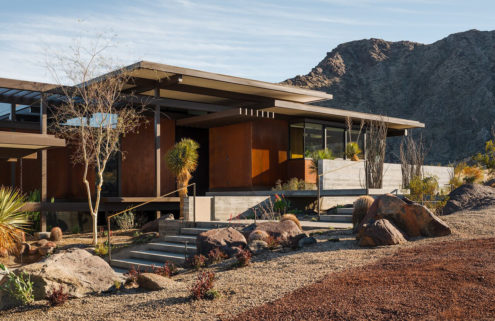 Ray Kappe's last desert home is for sale in Palm Springs