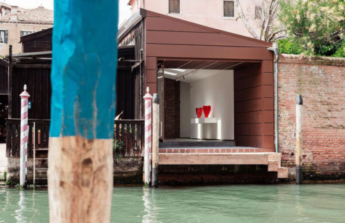 Venice has a new art hub in a former shipyard