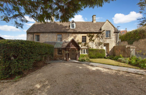 A Cotswold Cottage is for sale – but it comes with an unusual permanent resident