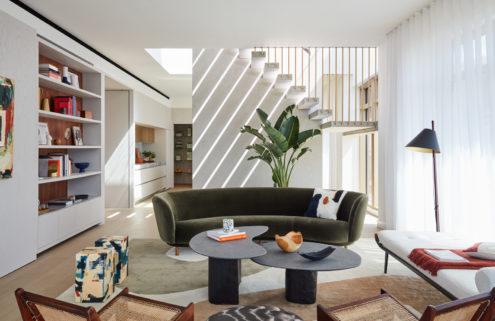 Inside Conrad & Partners' tranquil Kings Cross penthouse