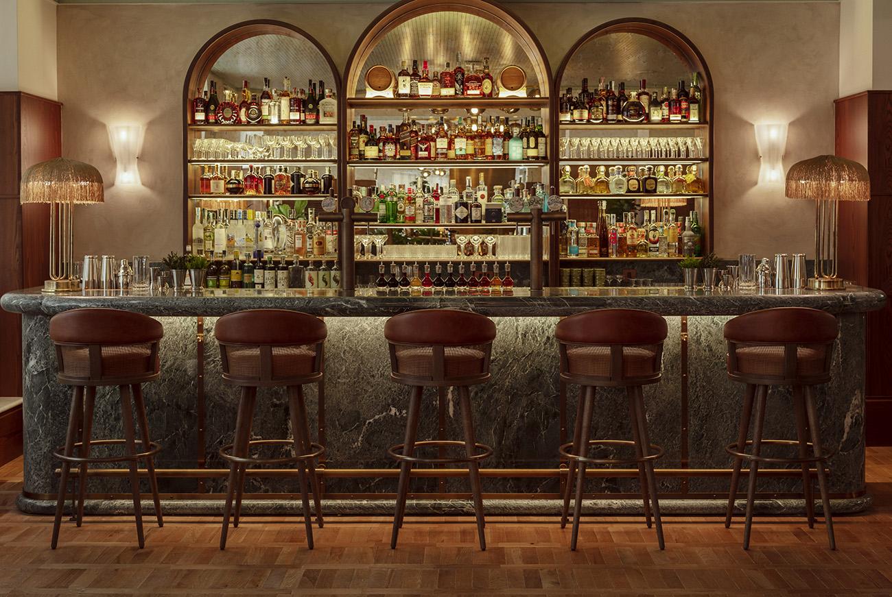 The Hoxton Rome bar